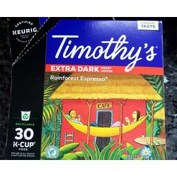 Timothys Rainforest Espresso Coffee