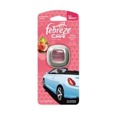 Febreze CAR Vent Clips Freshener (Thai Dragon Fruit)