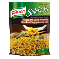 Knorr Sidekicks Singapore Curry Noodles