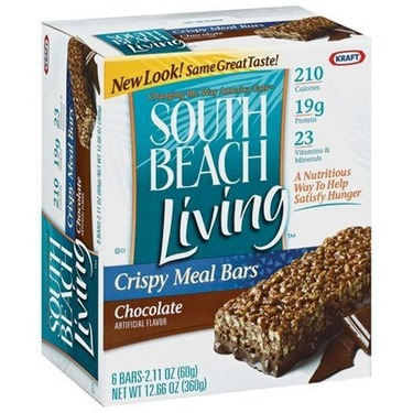 South Beach Diet Snack Bars - Chocolate