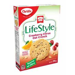 Peek Freans LifeStyle Cranberry Citrus Oat Crunch Cookies