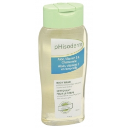 pHisoderm Body Wash in Aloe, Vitamin E & Chamomile