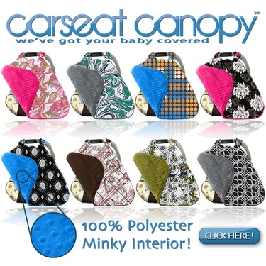 Mother's Lounge Carseat Canopy