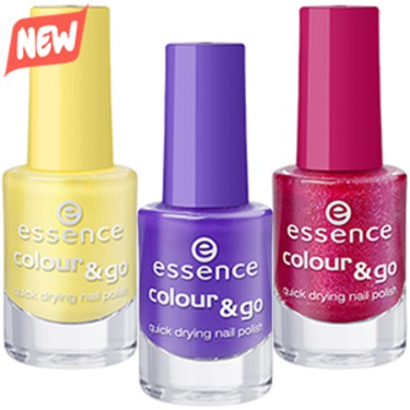 essence Color and Go Nail Polish