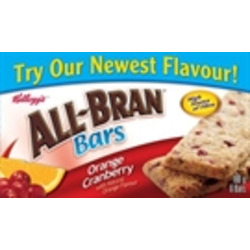 Kellogg's All Bran Cereal Bar/Orange Cranberry
