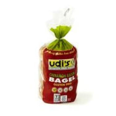 Udi's Cinnamon Raisin Bagel