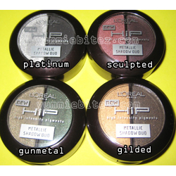 L'Oreal Paris HIP High Intensity Pigments Eye Shadow Duo