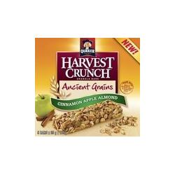 Quaker Harvest Crunch Granola Bar Ancient Grains - Cinnamon Apple Almond