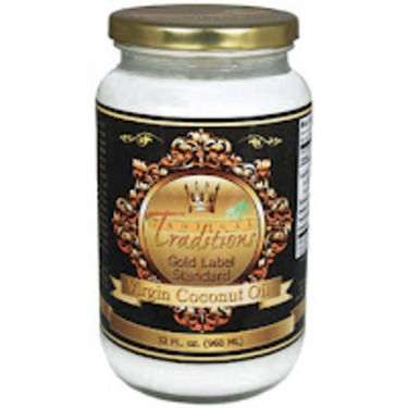 Tropical Tradition Gold Label virgin coconut oil