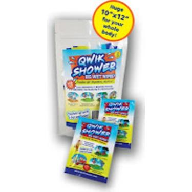 Quik Shower Big Wet Wipes