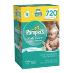 Pampers Soft Care Wipes Unscented