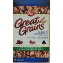 Post Great Grains Blueberry Pomegranate Cereal