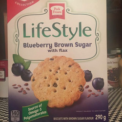 Peek Freans LifeStyle Blueberry Brown Sugar with Flax