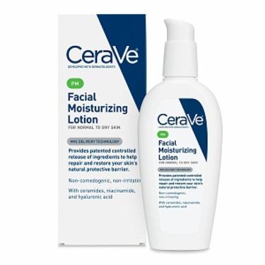 CeraVe PM Facial Moisturizing Lotion