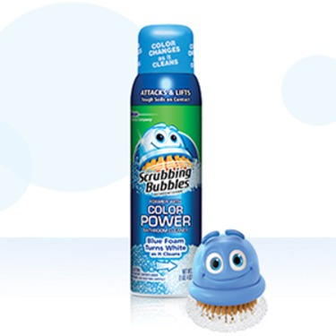 Scrubbing Bubbles Bathroom Cleaner With Color Power Technology