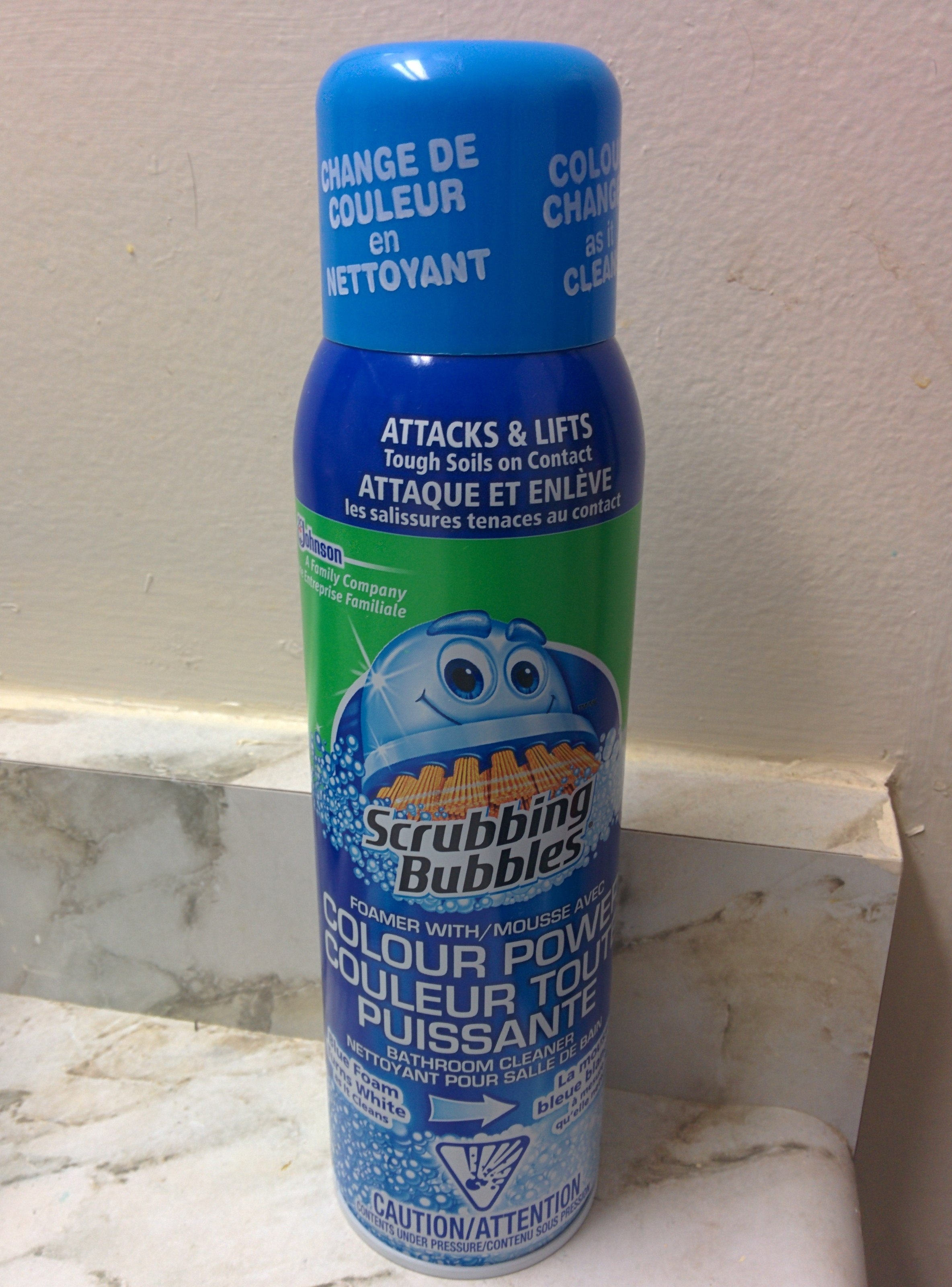 Scrubbing Bubbles Bathroom Cleaner With Color Power Technology Reviews In Household Cleaning