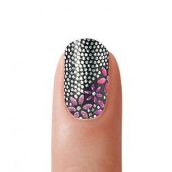 Perl Fashion Nail Polish Strips - Miss Flowers