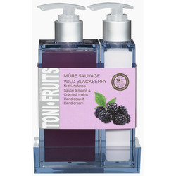 Hand Soap & Cream Duo Wild Blackberry - Dans un Jardin