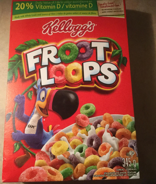 Froot Loops Cereal Bars Kellogg's Froot Loops ...