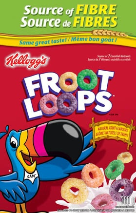 Froot Loops Cereal Bars Kellogg's F...