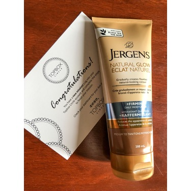 Jergens Natural Glow +Firming Daily Moisturizer