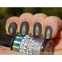 Layla Hologram Effect Flash Black