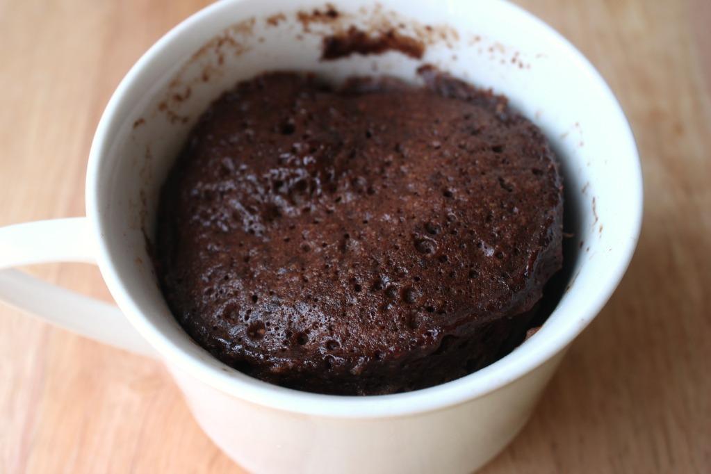 Coffee Cocoa Microwave Mug Cake