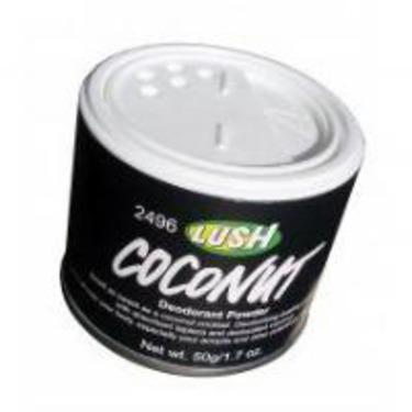 LUSH Coconut Deodorant Powder