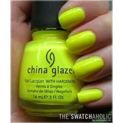 "China glaze ""yellow polka dot bikini'"