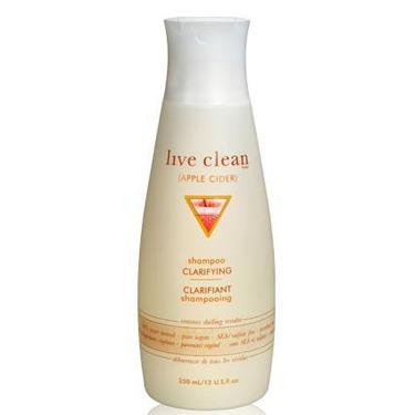 Live Clean Apple Cider Clarifying Shampoo