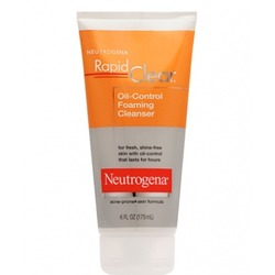 Neutrogena Rapid Clear Oil Control Foaming Cleanser