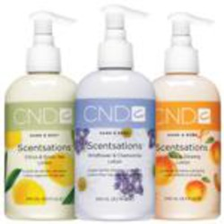 Scentsations Lotions by CND