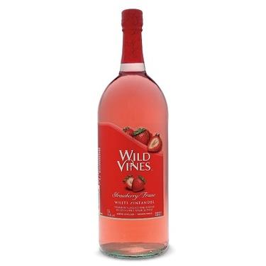 Wild Vines Strawberry White Zinfandel Wine