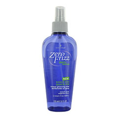 Zero frizz Quick Fix instant glistening mix