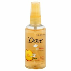 Dove Go Fresh Body Mist Nectarine and White Ginger