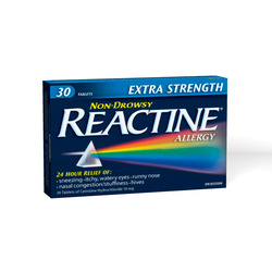 Extra Strength REACTINE Tablets