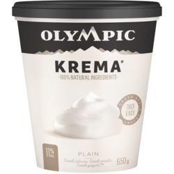 Olympic Krema Greek Style Yogurt