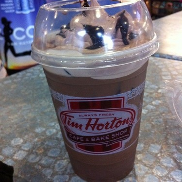 Tim Hortons Iced Mocha Latte