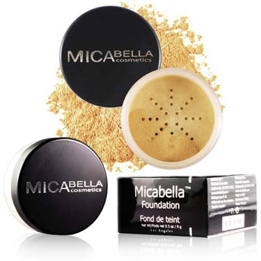 Micabella Cosmetics: Mineral Blush in Autumn Sunset