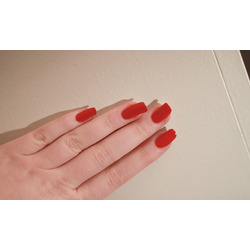 essie nail polish in red nouveau