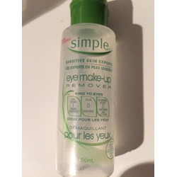 Simple Kind To Eyes Eye Make Up Remover