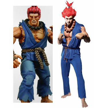Street Fighter Akuma Cosplay Costume