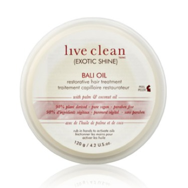 Live Clean Exotic Shine Bali Oil Restorative Treatment