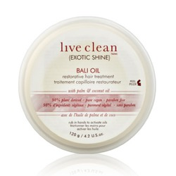 Live Clean Exotic Shine Bali Oil Restorative Treatment