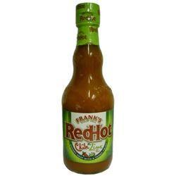 Franks Red Hot Chile N Lime Sauce