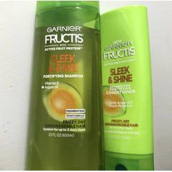 Garnier Fructis Sleek & Shine Shampoo & Conditioner