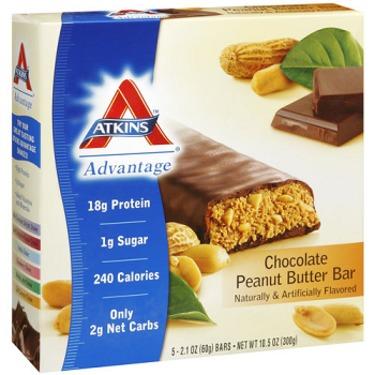 Atkins Advantage Chocolate Peanut Butter Bar