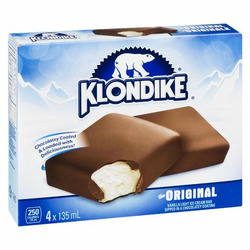 Klondike Original Chocolately Covered Vanilla Ice Cream Bars