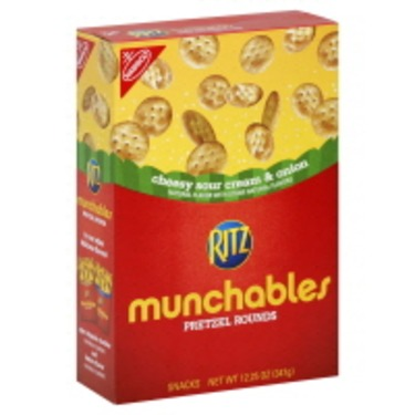 Ritz Munchables in Sour Cream And Onion