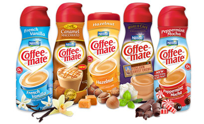 Coffee mate creamer flavors